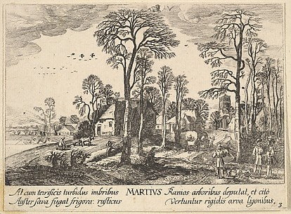 March, after Jan van der Velde