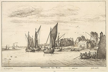 Willebroeck bey Boom, after Brueguel