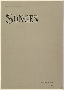 Cover of Songes Album