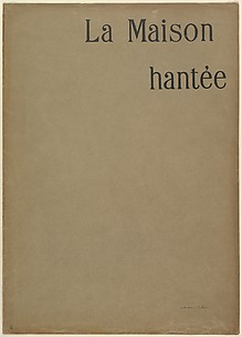 Brown Paper Cover (wrapper) for the series, The Haunted House (La Maison Hantée)
