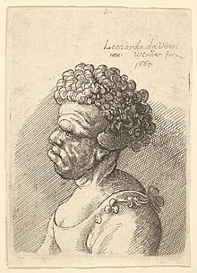 Bust of a Woman with Protruding Lip