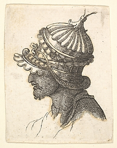 Copy of Helmeted Head