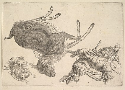 A Boar, a Heron and Other Game