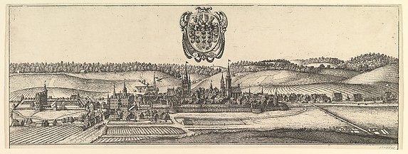 Ansbach and Coburg, View (a) of two views (a&b).