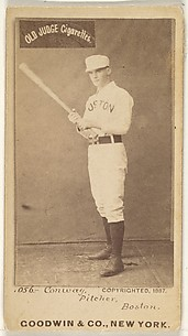 Conway, Pitcher, Boston, from the Old Judge series (N172) for Old Judge Cigarettes