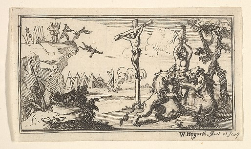 Crucifixion, etc. (Beaver's Roman Military Punishments, 1725, Chapter 6)
