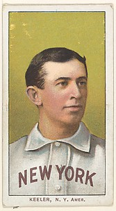 Keeler, New York, American League, from the White Border series (T206) for the American Tobacco Company