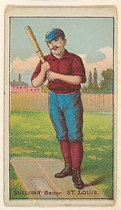 Sullivan, Batter, St. Louis, from the Gold Coin series (N284) for Gold Coin Chewing Tobacco