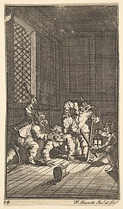 Hudibras Catechized (Seventeen Small Illustrations for Samuel Butler's Hudibras, no. 14)