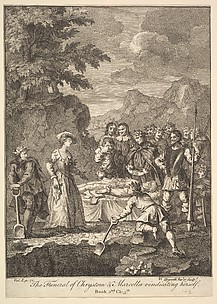 The Funeral of Chrysostom (Six Illustrations for Don Quixote)