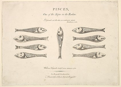 Pisces: Hogarth's Quadrille Fish