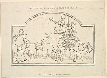 Frontispiece to the Jacobite's Journal