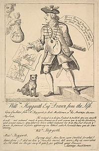 William Hogarth Esq. Drawn from the Life, Copy of a Letter from Hogarth to Lord Mucklemon