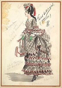 Costume Design for &#39;Third Ballet Girl (Italian)&#39;