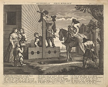 Hudibras Triumphant (Plate 4: Illustrations to Samuel Butler&#39;s Hudibras)