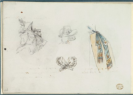 Four Designs of Costume Accessories