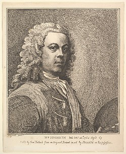 William Hogarth, Self-portrait