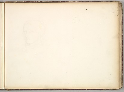 Head of a Boy or Youth (in Sketch Book With Drawings on Twenty-six Leaves)