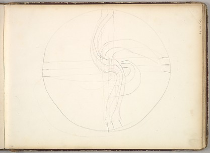 Circular Diagram (in Sketch Book With Drawings on Twenty-six Leaves)