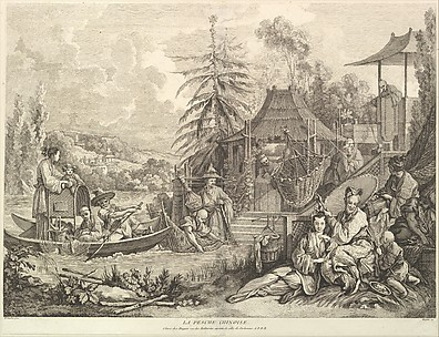La pesche chinoise (Chinese Fishing), from Chinoiseries