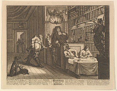 Hudibras and the Lawyer (Twelve Large Illustrations for Samuel Butler's Hudibras, Plate 12)