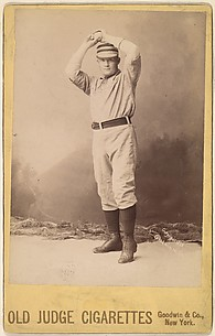 Lovett, Pitcher, Brooklyn, from the series Old Judge Cigarettes