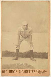 Smith, Shortstop, Brooklyn, from the series Old Judge Cigarettes