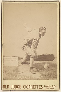 Charlie Sprague, Pitcher, Chicago, from the series Old Judge Cigarettes