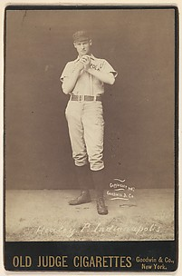 John J. Healey, Pitcher, Indianapolis, from the series Old Judge Cigarettes
