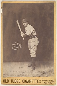 George D. Myers, Catcher, Indianapolis, from the series Old Judge Cigarettes