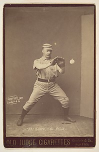 McGuire, Catcher, Philadelphia, from the series Old Judge Cigarettes