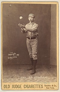 Irwin, Shortstop, Philadelphia, from the series Old Judge Cigarettes