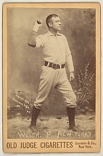 Welch, Pitcher, New York, from the series Old Judge Cigarettes
