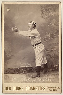 Childs, 2nd Base, Philadelphia, from the series Old Judge Cigarettes