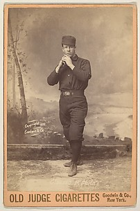 Gleason, Pitcher, Philadelphia, from the series Old Judge Cigarettes