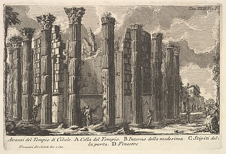 Remains of the Temple of Cybele (Avanzi del Tempio di Cibele)