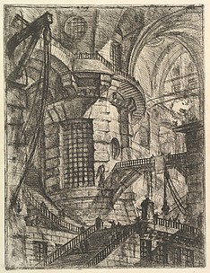 The Round Tower, from Carceri d'invenzione (Imaginary Prisons)