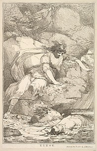 Elegy (from Fifteen Etchings Dedicated to Sir Joshua Reynolds)
