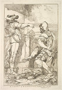 A Captain of Banditti Sending Out a Party (from Fifteen Etchings Dedicated to Sir Joshua Reynolds)
