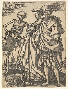 Couple and Death with a Drum, from The Dance of Death