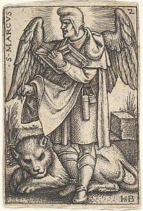 Saint Mark, from the Four Evangelists