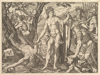 Apollo and Marsyas: The Judgment of Midas (or The Flaying of Marsyas)