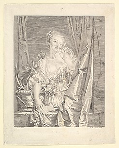 Le Baiser Envoy (Blowing a Kiss)