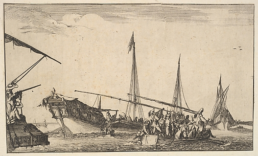 A Full Boat, from Suite of Eight Marines (Suite de huit Marines)