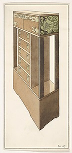 Design for a Chest, for The Living Room and the Hall (The Ladies' Home Journal, XIX, March 1902)