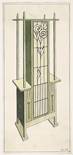 Design for a Cabinet Suitable for Living Room or Hall