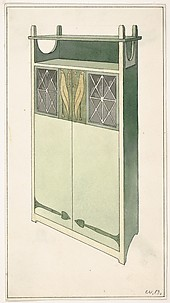 Design for a Chest for The Living Room and the Hall (The Ladies' Home Journal, XIX, March 1902)