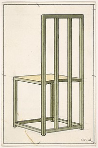Design for a Chair from The Nursery (The Ladies' Home Journal, XIX, February 1902)