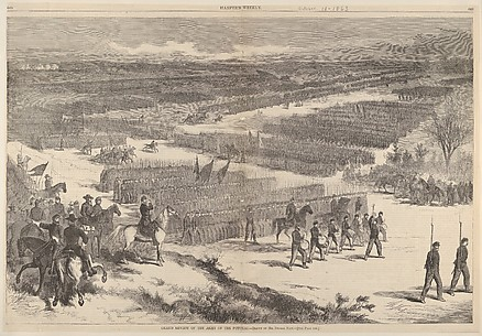 Grand Review of the Army of the Potomac – Drawn by Mr. Thomas Nast (from Harper's Weekly)