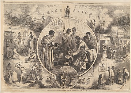 Emancipation of the Negroes – The Past and the Future (from Harper's Weekly)